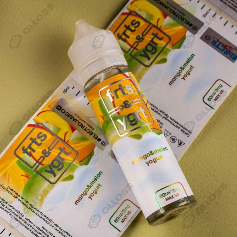 Самоклеящиеся этикетки на жидкости для вейпа FRTS & YGRT от Electro Jam
