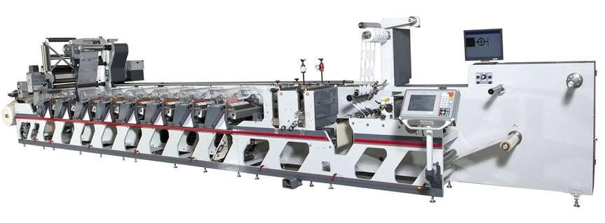 Закупка флексографических печатных машин OMET
