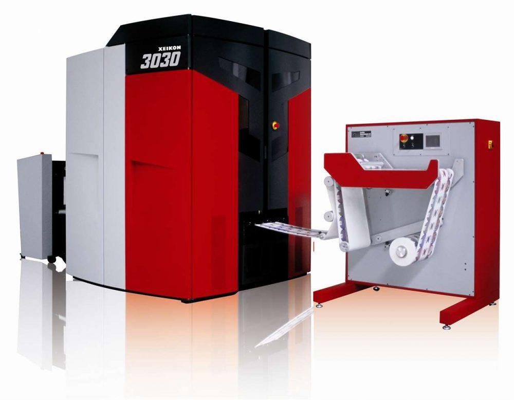 Закупка цифровых печатных машин Xeikon